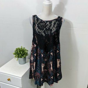 FREE PEOPLE INTIMATELY Count Me In Trapeze Tunic